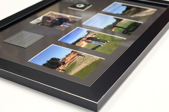view of a custom photo frame